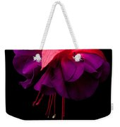 Purple And Pink Beauty Weekender Tote Bag by Dawn OConnor