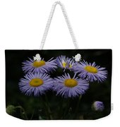 Purple Asters Weekender Tote Bag
