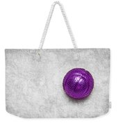 Purple Ball Cat Toy Weekender Tote Bag