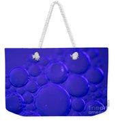 Purple Bubbles Weekender Tote Bag