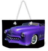 Purple Customized Weekender Tote Bag