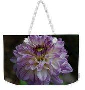 Purple Dahlia 3 Weekender Tote Bag