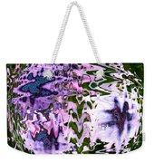 Purple Daisies World - Abstract Art Weekender Tote Bag