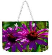 Purple Daisy's Weekender Tote Bag