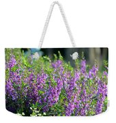 Purple English Garden  Weekender Tote Bag