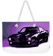 Purple Firebird Weekender Tote Bag