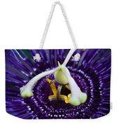 Purple Flower 3 Weekender Tote Bag
