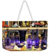Purple Glass Collection Weekender Tote Bag