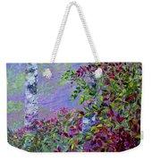 Purple Haze Weekender Tote Bag by Joanne Smoley