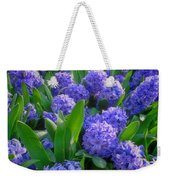 Purple Hyacinths Weekender Tote Bag