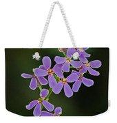 Purple Joy Weekender Tote Bag
