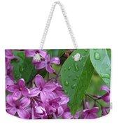 Purple Lilac Weekender Tote Bag
