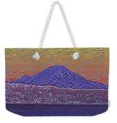 Purple Mountain Majesty Sunset Weekender Tote Bag