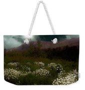 Purple Mountain Meadow Weekender Tote Bag