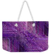 Purple Mystique Weekender Tote Bag