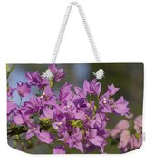 Purple Of The Bougainvillea Blossoms Weekender Tote Bag
