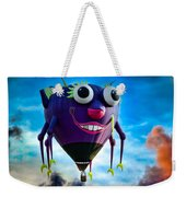 Purple People Eater Weekender Tote Bag