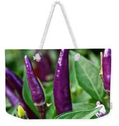 Purple Pepper Life Cycle  Weekender Tote Bag