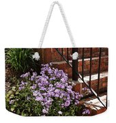 Purple Phlox  Weekender Tote Bag
