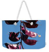 Purple Pods Weekender Tote Bag