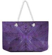 Purple Poeticum Weekender Tote Bag