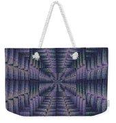 Purple Portal Weekender Tote Bag