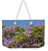 Purple Prelude Weekender Tote Bag