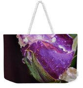 Purple Rose Weekender Tote Bag
