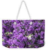Purple Screen Square Weekender Tote Bag