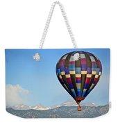 Purple Skies Weekender Tote Bag by Scott Mahon