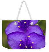 Purple Spiderwort 1 Weekender Tote Bag