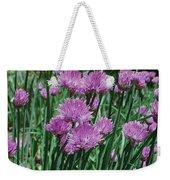Purple Spikes Weekender Tote Bag