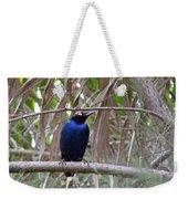 Purple Starling Weekender Tote Bag