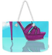Purple Stilt Stilettos Reflections Weekender Tote Bag