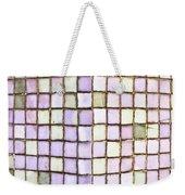 Purple Tiles Weekender Tote Bag