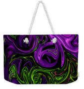 Purple Transformation Weekender Tote Bag
