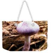Purple Wild Mushroom Weekender Tote Bag
