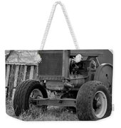 Put Out But Not Abandoned In Black-and-white Weekender Tote Bag