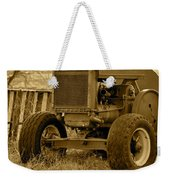 Put Out But Not Abandoned In Sepia Weekender Tote Bag