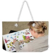Puzzle Therapy Weekender Tote Bag