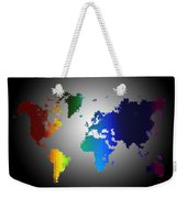 Puzzle World Treasure Map Weekender Tote Bag
