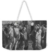 Pylades And Orestes Weekender Tote Bag