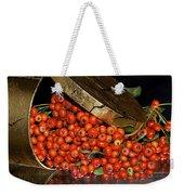 Pyracantha Berries Weekender Tote Bag