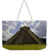 Pyramid Of Kukulkan Two Weekender Tote Bag