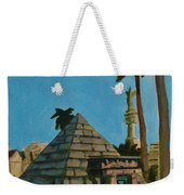 Pyramid Tomb In Cemetary Weekender Tote Bag