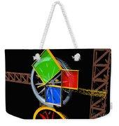 Pythagorean Machine Landscape 1 Weekender Tote Bag
