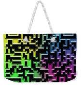 Qr Art Weekender Tote Bag