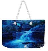 Quaint Falls  Weekender Tote Bag