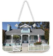 Quaint House Architecture - Benicia California - 5d18817 Weekender Tote Bag