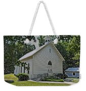 Quaker Church Pencil Weekender Tote Bag